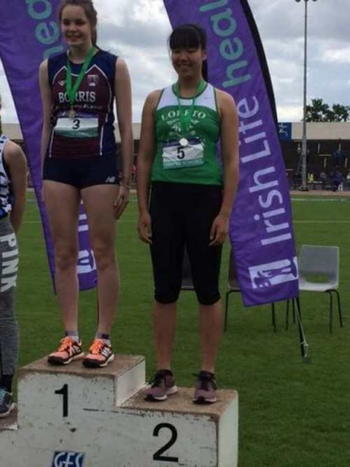 Success at Leinster Schools' Athletics Championships
