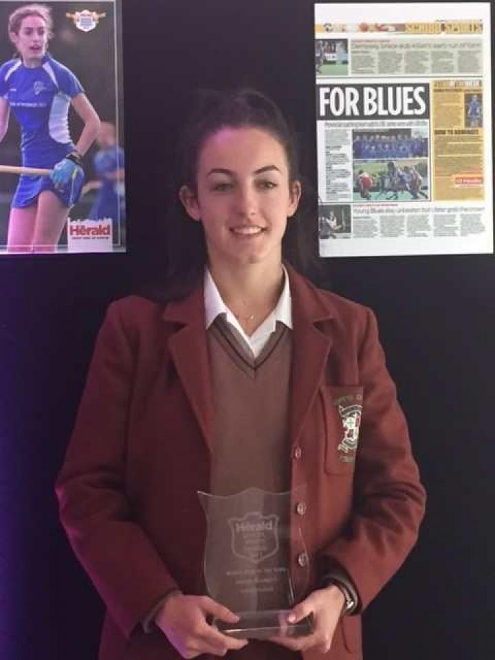 Congratulations to Hannah McLoughlin